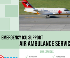 Use Paramount ICU Care by Medivic Air Ambulance in Delhi