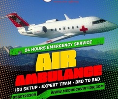 Gain Tremendous Medical Care by Medivic Air Ambulance in Guwahati