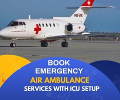 Get Dependable ICU Air Ambulance Service in Mumbai by Medivic