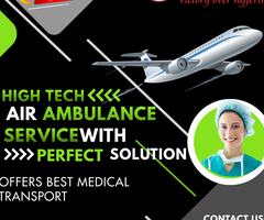 Use the unparalleled Air Ambulance Service in Chennai by Medivic with Superlative Helps