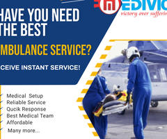 Get a Swiftest Patient Relocation by Medivic Air Ambulance Service in Dibrugarh