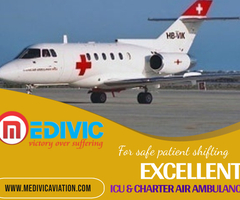 Hire the Most excellent Air Ambulance Service in Jamshedpur with hi-tech Setup by Medivic