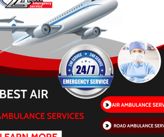 Utilize the Air Ambulance Service in Ranchi with certified Amenities by Medivic
